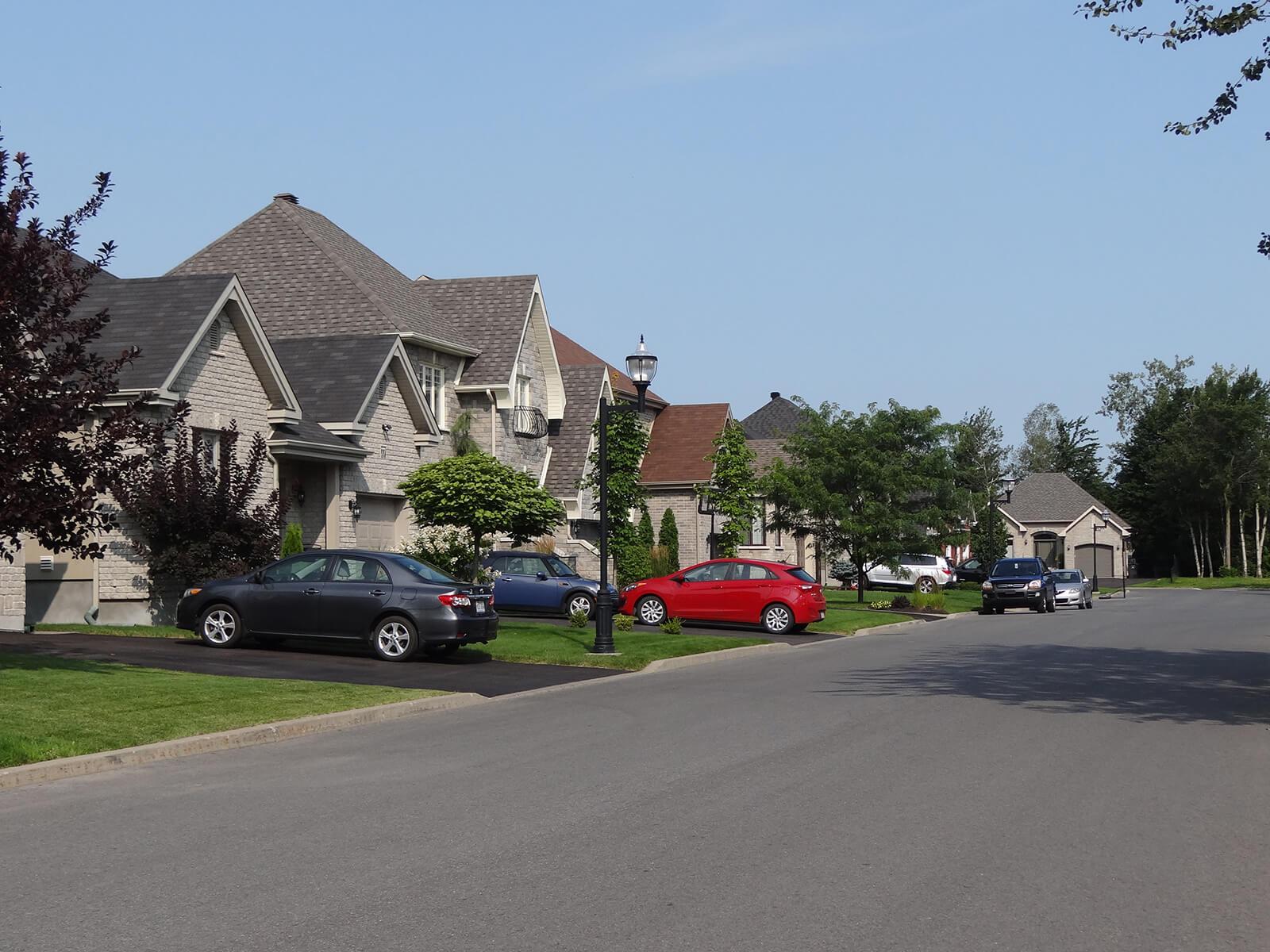 Maisons sur la rue Léger