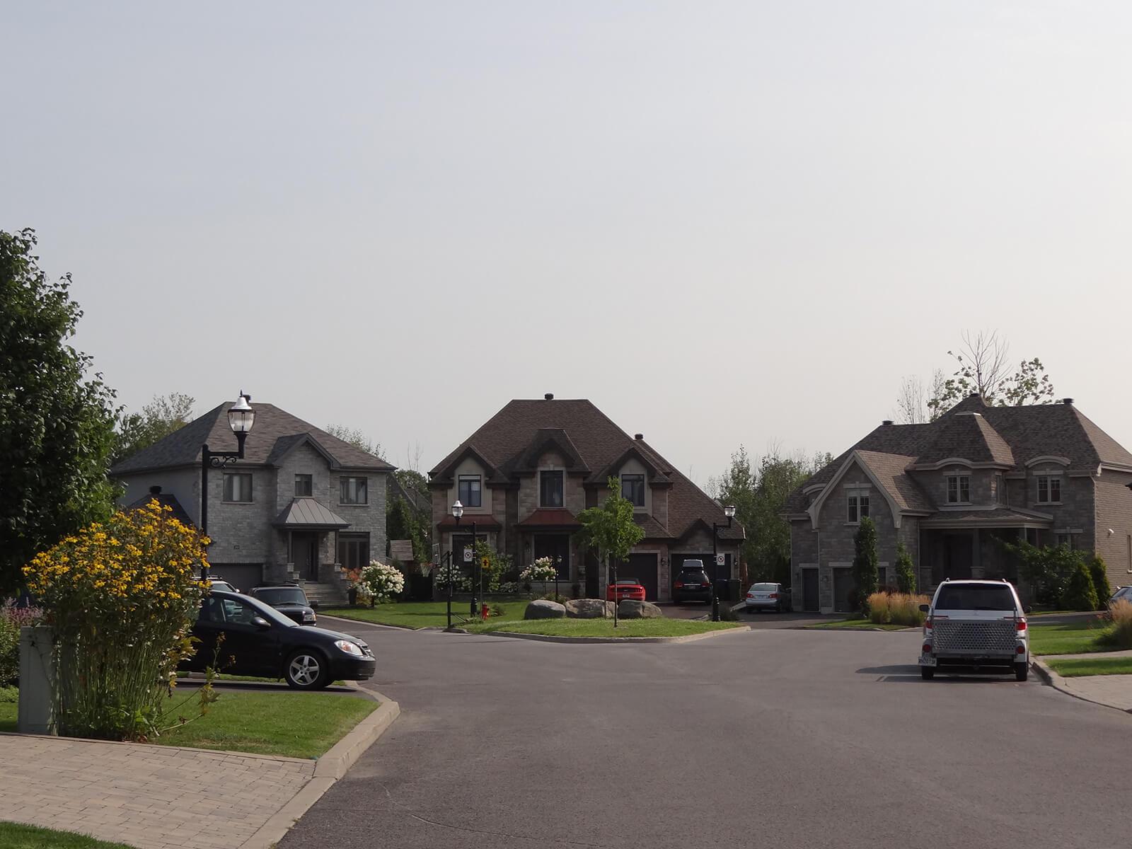 Maisons sur la rue Galilée