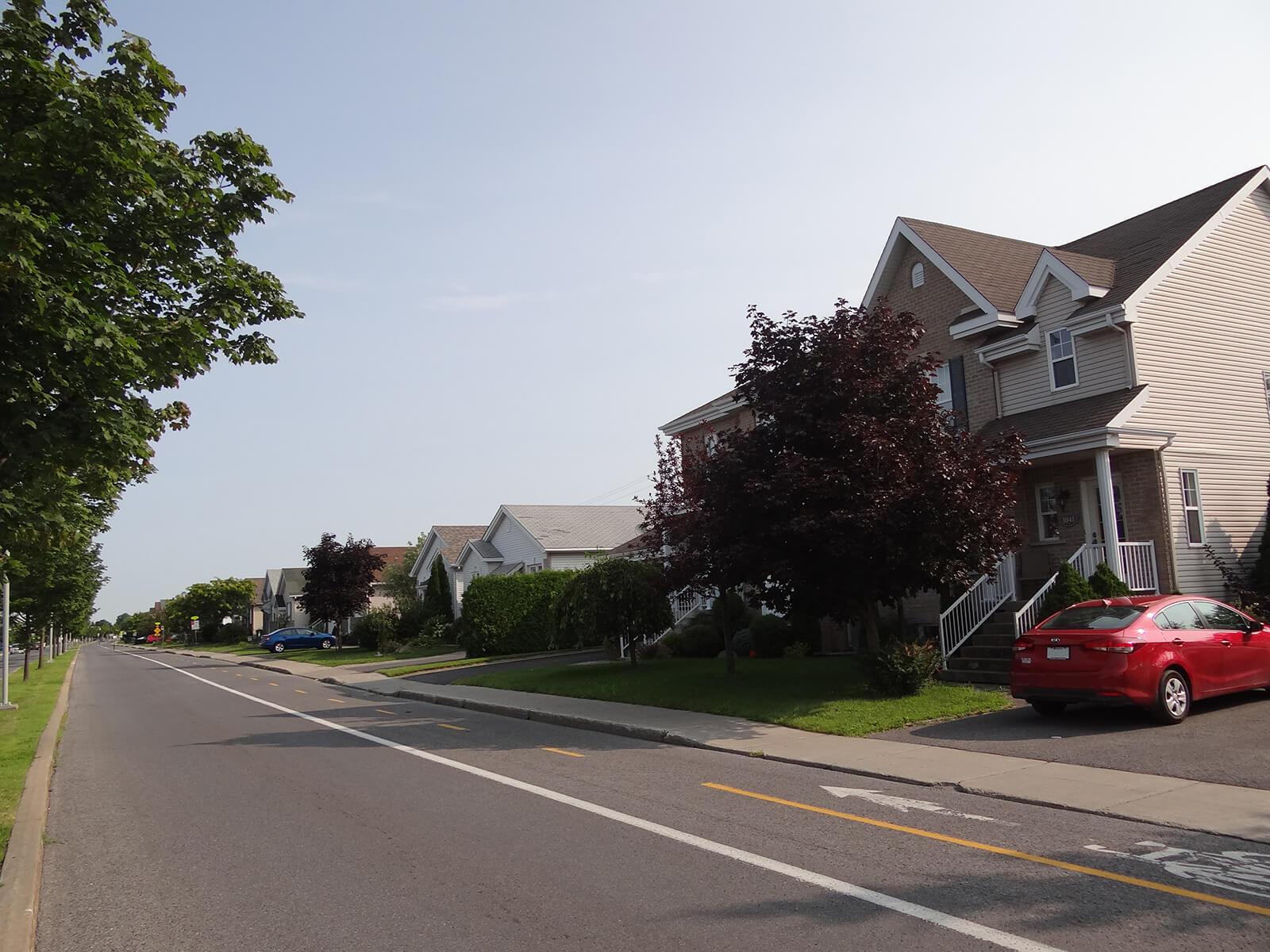 Maisons sur la rue Alexis-Lebert