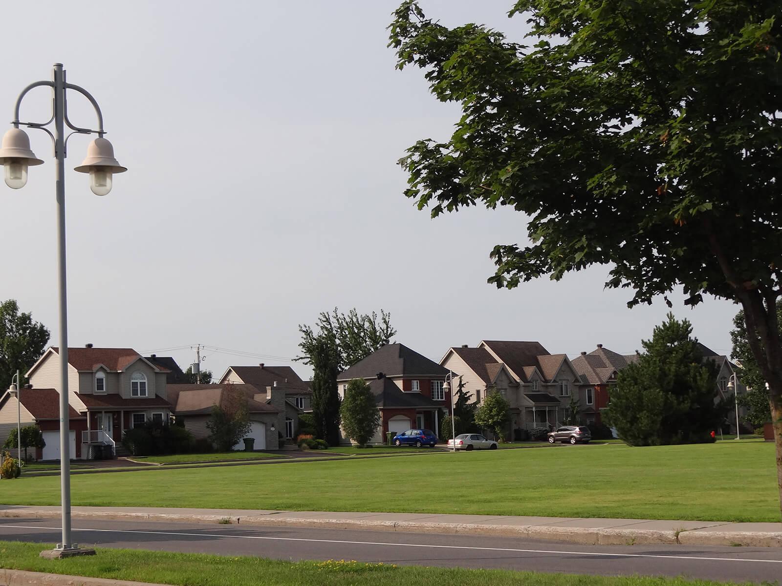Maisons sur la rue Henri-Morin