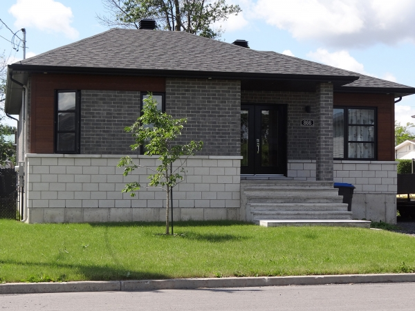 bungalow contemporain