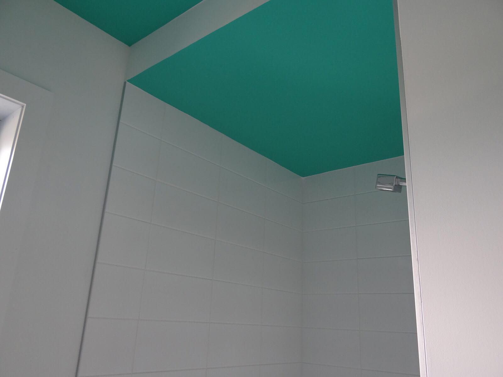 douche céramique et encastrement plafond