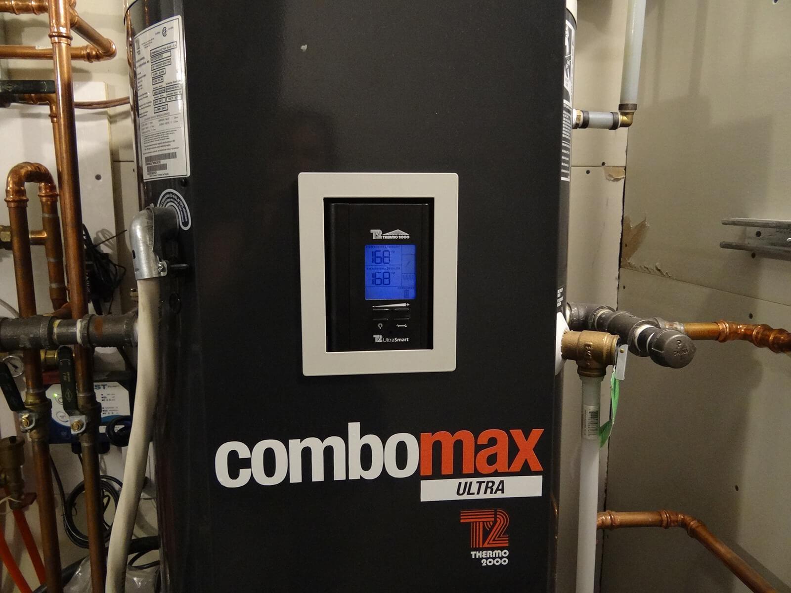 Chaudière électrique et chauffe-eau instantané combinés ComboMax Ultra Thermo 2000