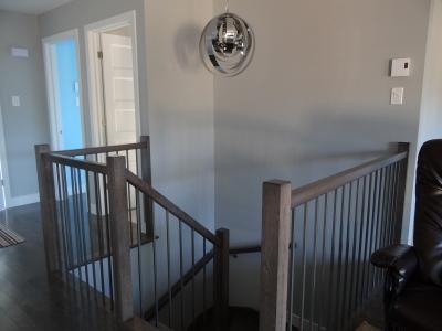 escaliers porte feuilles