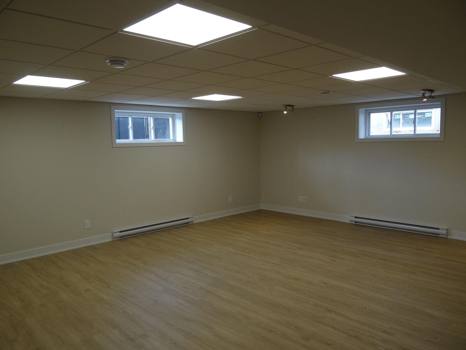 plafonds suspendus et luminaires