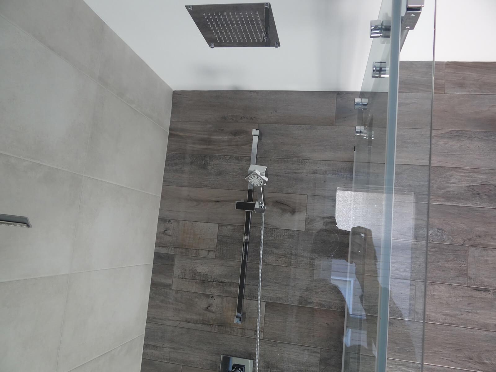 douche tête de pluie