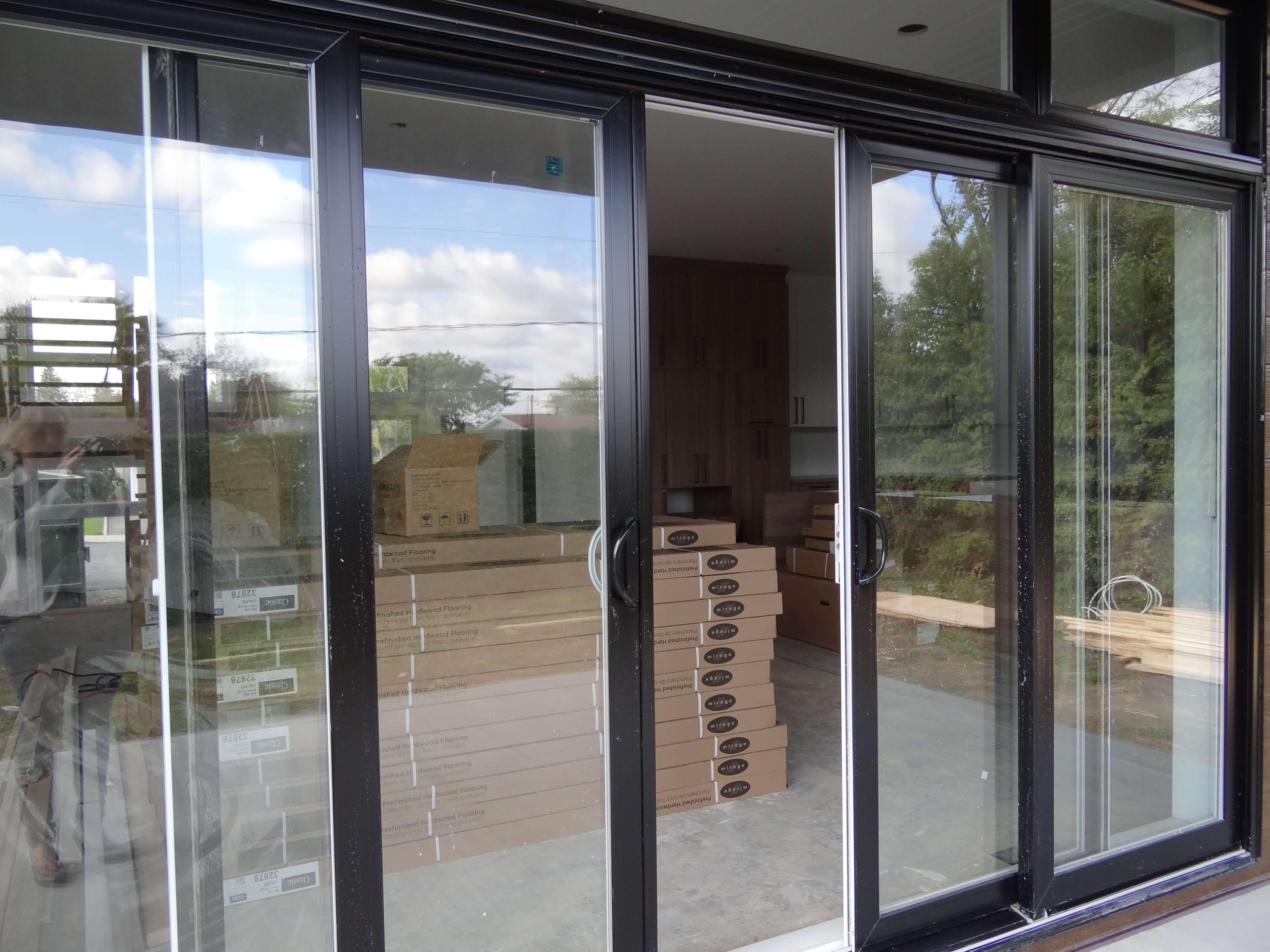 Habitations ÉnerGIK - Finition extérieure - Porte-patio